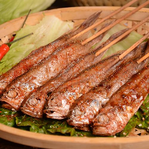 小黄鱼串生产